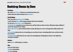 bootstrapdemos.scripting.com