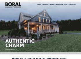 boralbuildingproducts.com