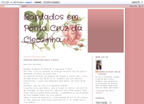 bordadospontocruzdacleozinha.blogspot.com