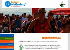 borkumer-meilenlauf.de