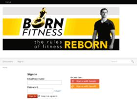 bornfitness.vanillaforums.com