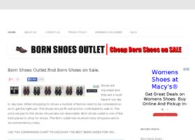 bornshoesoutlet.org