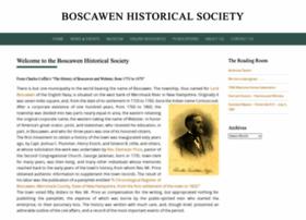 boscawenhistoricalsociety.org