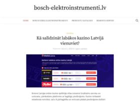 bosch-elektroinstrumenti.lv