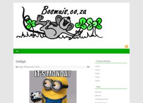 bosmuis.co.za
