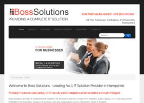 bosssolutions.co.uk