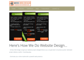 bosswebdesign.co.za