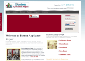 bostonappliancerepair.net