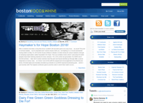 bostonfoodandwhine.com