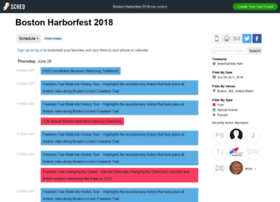 bostonharborfest2018.sched.com