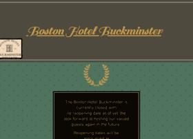 bostonhotelbuckminster.com