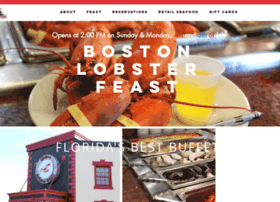 bostonlobsterfeast.com
