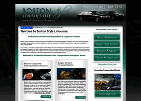 bostonstylelimo.com