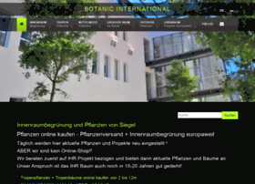 botanic-international.eu