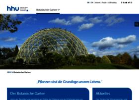 botanischergarten.hhu.de