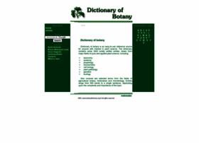 botanydictionary.org