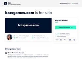 botsgames.com