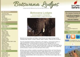 botswanalodges.net