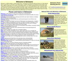botswanatravelservice.com