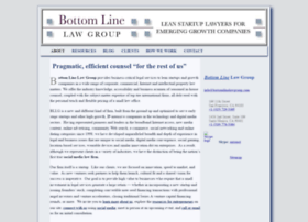 bottomlinelawgroup.com