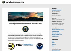 boulder.doc.gov