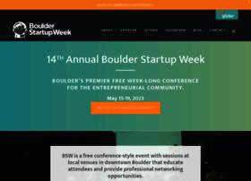 boulder.startupweek.co