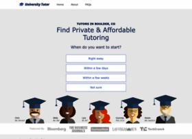 boulder.universitytutor.com