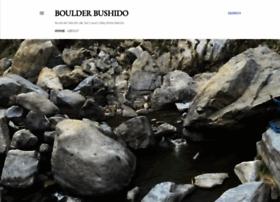 boulderbushido.blogspot.com