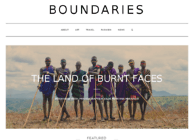 boundariesmagazine.com