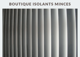 boutique-isolants-minces.com