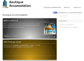 boutiqueaccommodation.co.za