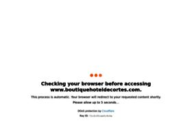 boutiquehoteldecortes.com