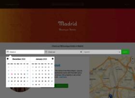 boutiquehotels-madrid.com