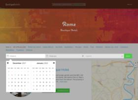 boutiquehotels-rome.com