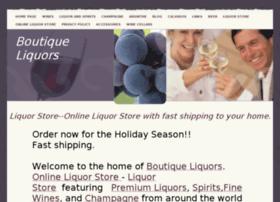 boutiqueliquors.com