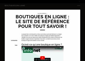 boutiques-ligne.com