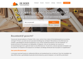 bouwbedrijfdeboer.nl