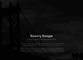 boweryboogie.com