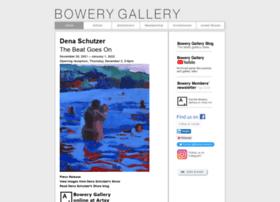 bowerygallery.org