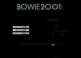 bowie2001.com