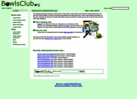 bowlsclub.org