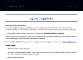 box.georgetown.edu