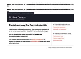 boxes.thesislaboratory.com