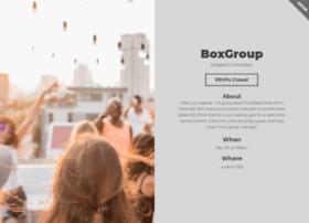 boxgroup.splashthat.com