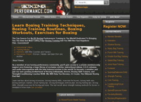 boxingperformance.com