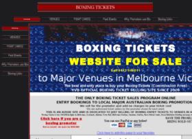 boxingtickets.net.au