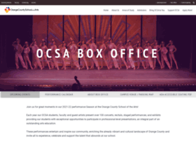boxoffice.ocsarts.net