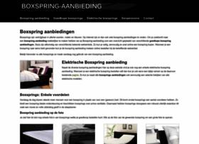 boxspring-aanbieding.com