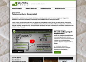boxspringbett velda websites and posts on boxspringbett velda. Black Bedroom Furniture Sets. Home Design Ideas