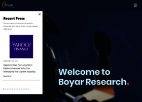boyarresearch.com